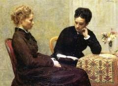 Ignace Henri Jean Théodore Fantin-Latour, La lecture. 1877