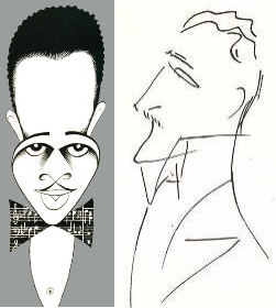 Il ritratto di Duke Ellington è tratto da artsjournal.com, mentre quello di Arturo Benedetti Michelangeli è di Riccardo Chicco.