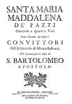 1719. Santa Maria Maddalena